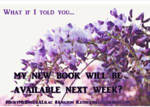 Book Launch, Amazon Books, Amazon.com, Bury Me Under a Lilac, Katherine Gotthardt